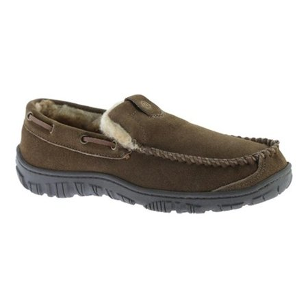 6264a8c92a3 Men's Clarks Venetian Moccasin Slipper Brown Leather 13 M