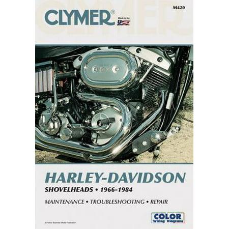 Clymer Harley-Davidson Shovelheads 66-84: Service, Repair, Maintenance ()