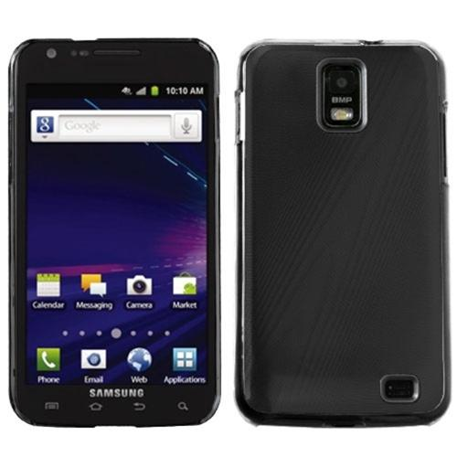 Insten Black Cosmo Back Case for SAMSUNG: i727 (Galaxy S II Skyrocket)
