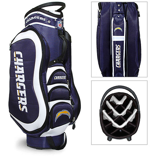 Team Golf NFL San Diego Chargers Medalist Golf Cart Bag