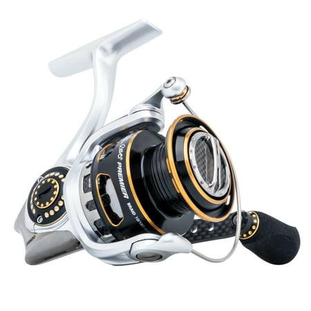 Gamma White Reels (Abu Garcia Revo Premier Spinning Fishing)
