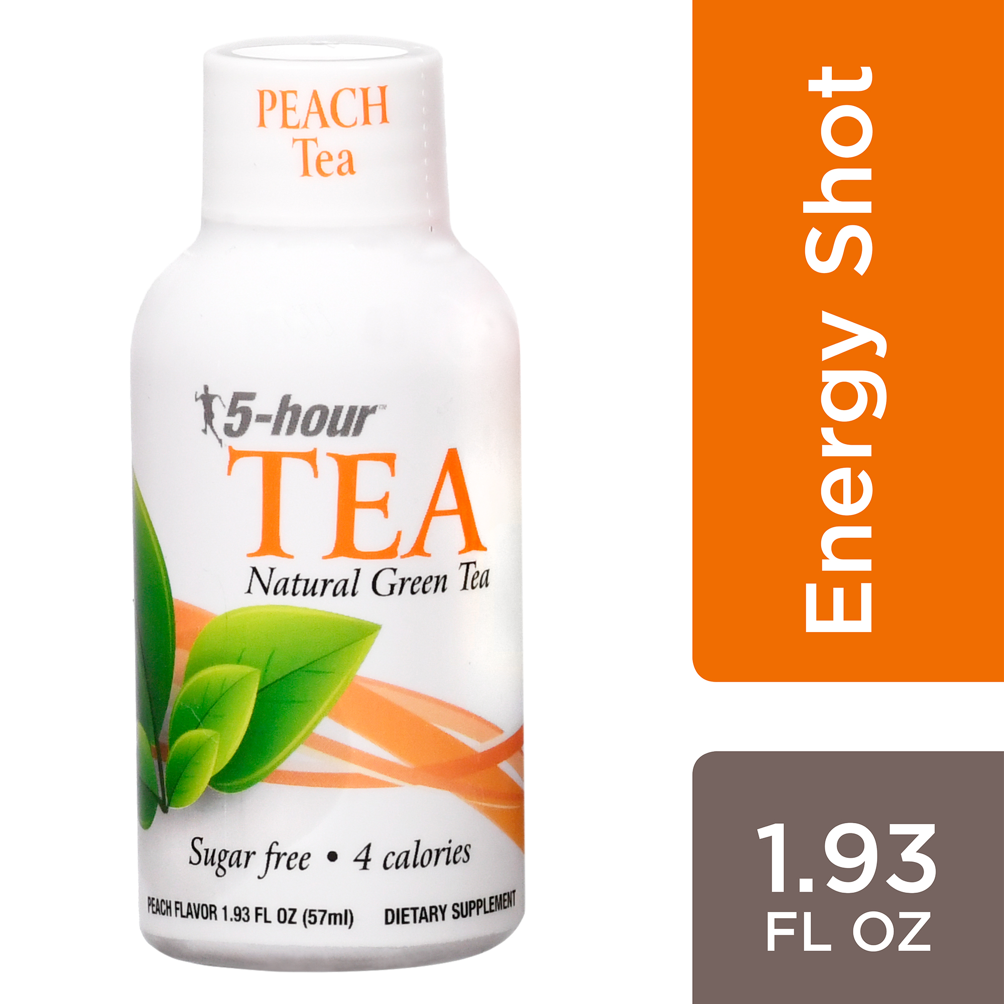 5-hour TEA™, Peach Tea Flavor, Low Calorie Single Energy Shot