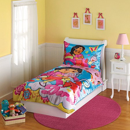 Dora bedroom set bedroom ideas for Dora themed bedroom designs