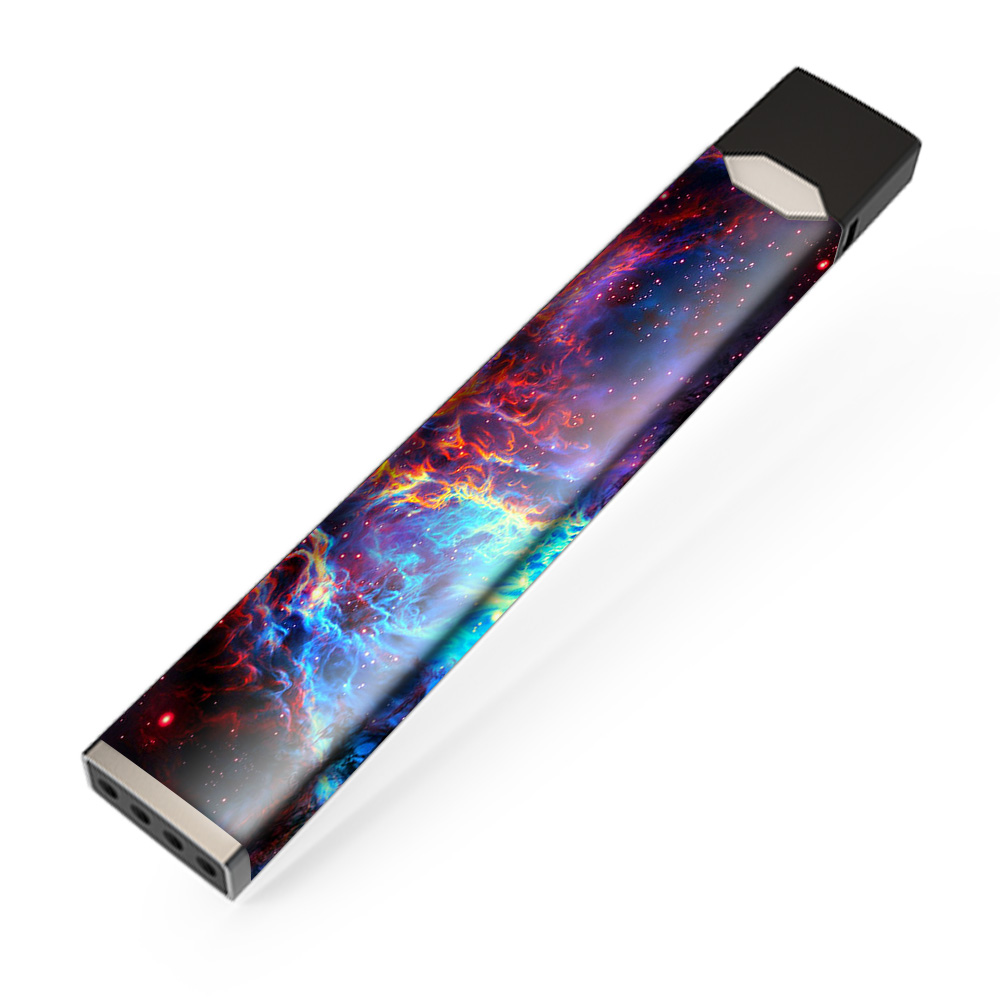 Skin Decal Vinyl Wrap for JUUL Vape stickers skins cover/ Cosmic Color Galaxy Universe