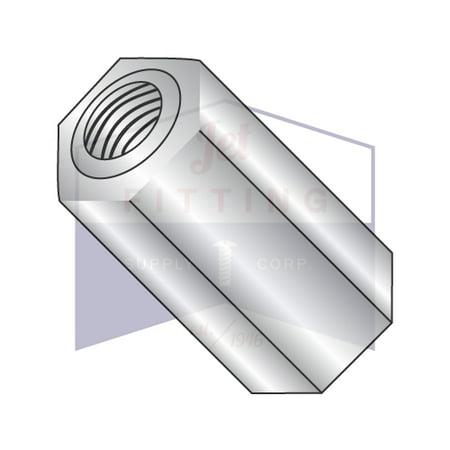 6 32 x 5 16 1 4 OD Hex Standoffs Female Female Aluminum Quantity 1000