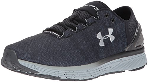 Under Armour Men's Charged Bandit 3 Running Shoes, Stealth Gray/Black, 7.5 D(M) US
