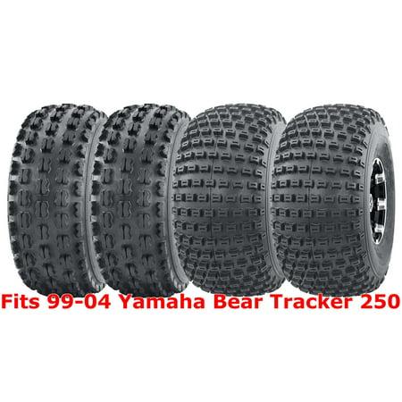 Full Set WANDA Sport ATV Tires 22x7 10 22x11 99 04 Yamaha Bear Tracker 250