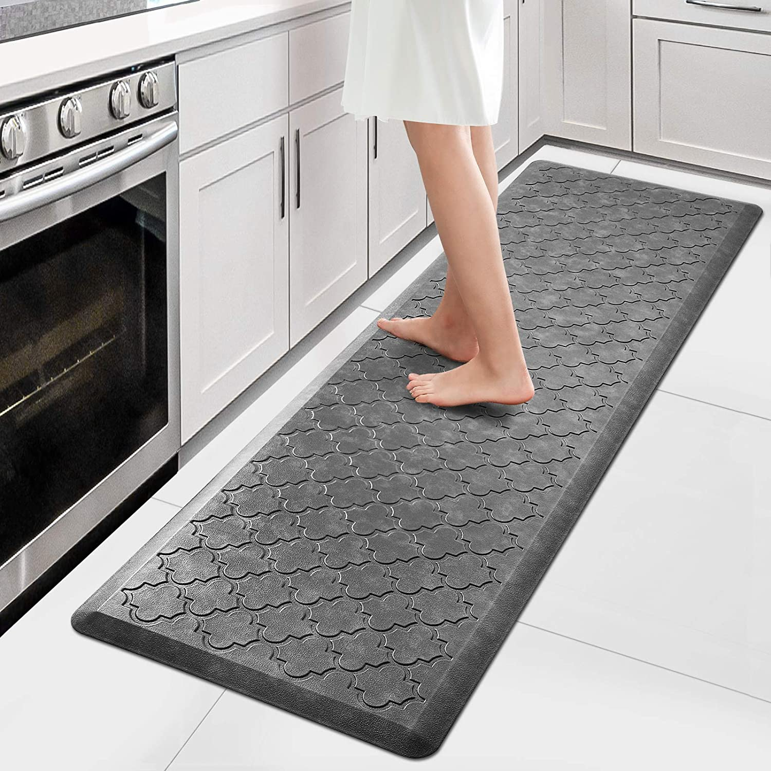WiseLife Kitchen Mat Cushioned Anti Fatigue Floor Mat,9.9