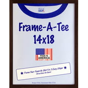 Frame USA F29310 T Shirt Frame - Walnut (14x18)