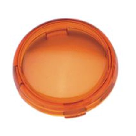 Drag Specialties Replacement Turn Signal Lens Amber (DS280517)