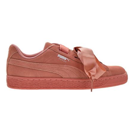 sale retailer 10e2b cec9e Puma Suede Heart Junior Big Kids Shoes Desert Flower/Puma White 365009-04  (4.5 M US)