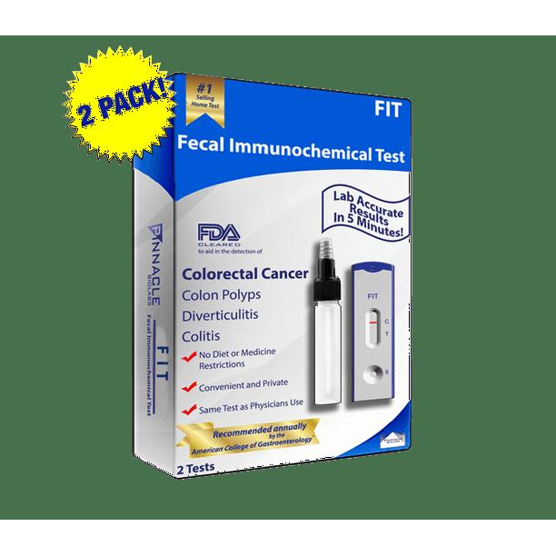 Second Generation Fit At Home Colon Cancer Test 2 Pack Walmart Com Walmart Com