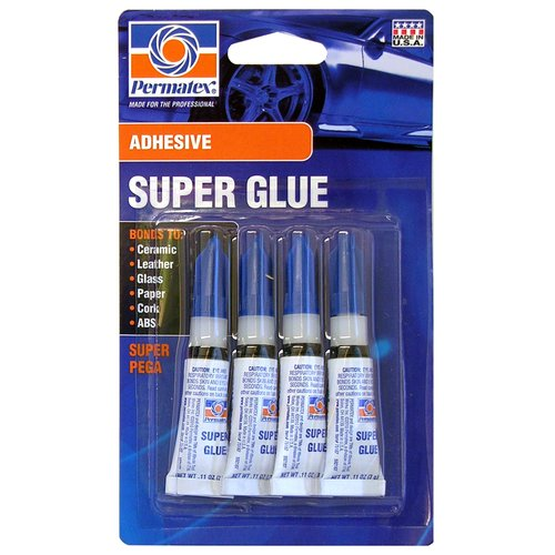 Permatex Super Glue, 4pk