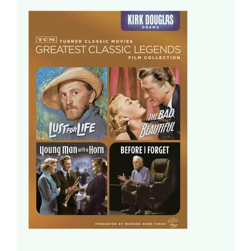 TCM Greatest Classic Legends Film Collection: Kirk Douglas - Lust For Life / The Bad And The Beautiful / Young Man With A Horn / Before I Forget