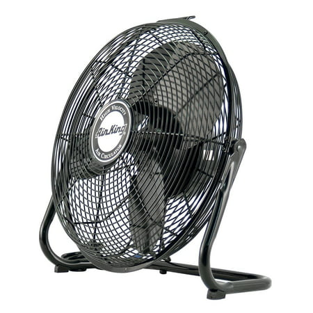 Air King 3 Speed 1/6 HP 120 Volt 20 Inch Enclosed Pivoting Floor Fan 9220