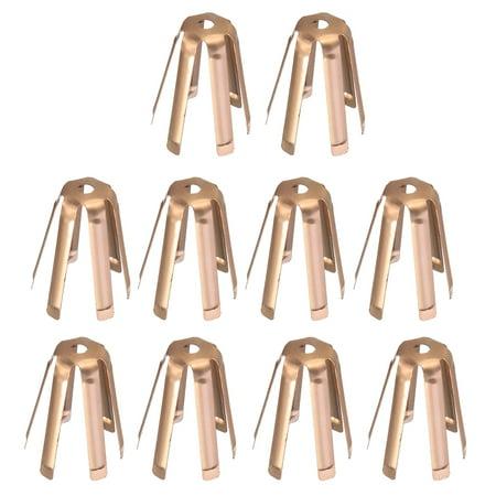 Moaere 10 Pcs Golf Brass Adaptor Shims Accessories For Iron Steel Shaft