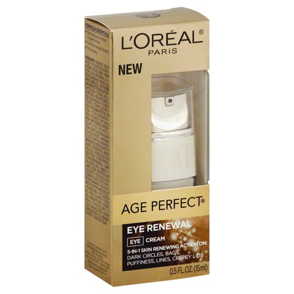 L'Oreal Paris Age Perfect Eye Renewal, 0.5 fl oz