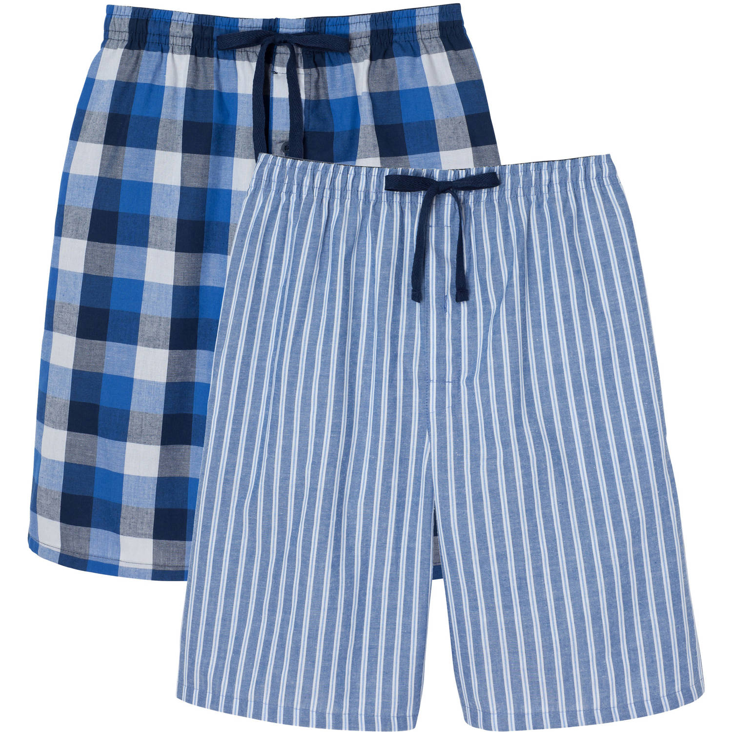 Hanes Big Men's 2-Pack Woven Sleep Jam Short