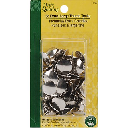 Dritz Quilting Extra Large Thumb Tacks, 65pk