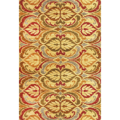 KAS Rugs Lifestyles Gold Firenze Area Rug
