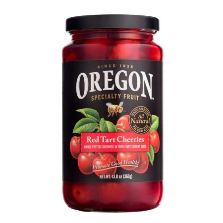 Oregon Specialty Fruit Red Tart Cherries in Red Tart Cherry Juice, 13 Oz