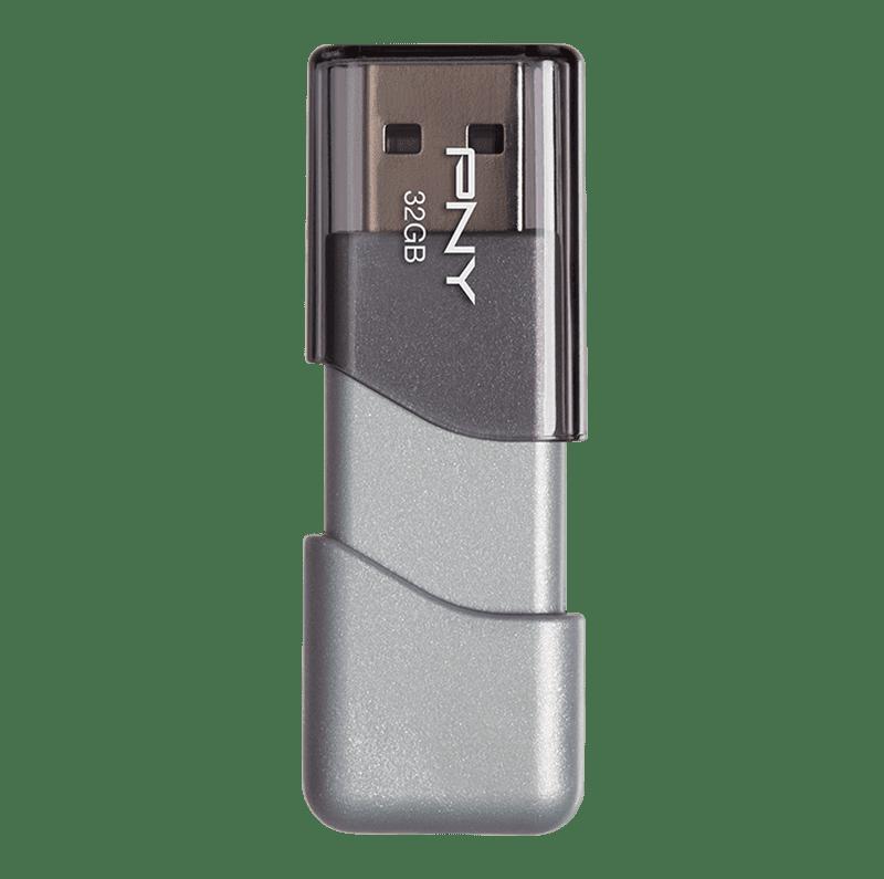 PNY Turbo Attache 4 32 GB USB 3.0 Flash Drive Thumb Drive USB 3.0 PNY 32 GB