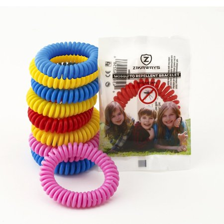 Mosquito Repellent Bracelets 10 Pack, No DEET Insect Repellent, Non Spray Pest Control Safe For Babies, Kids, Adults](Kids Insects)