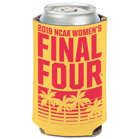 WinCraft 2019 NCAA Women's Basketball Tournament March Madness Final Four 12oz. Can Cooler - No (Listen To Ncaa Basketball Tournament On Radio)