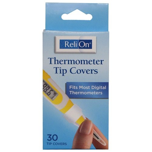 ReliOn Thermometer Tip Covers, 30 Ct