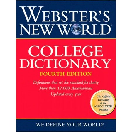 Websters New World College Dictionary Indexed Fourth Edition