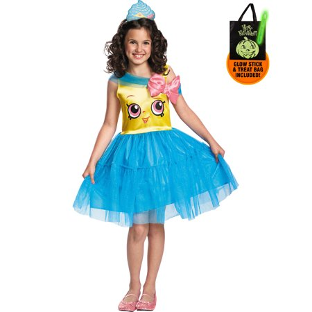 Shopkins Cupcake Queen Costume Treat Safety Kit - Cupcake Halloween Costumes For Tweens