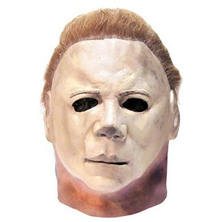 Halloween II Deluxe Michael Myers Mask](Michael Myers Mask Halloween Resurrection)