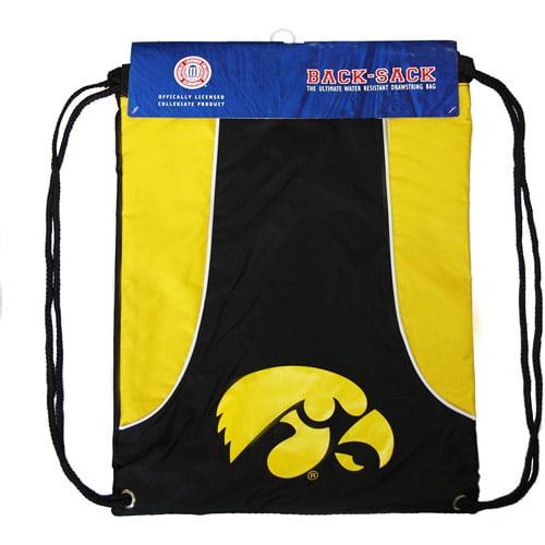 NCAA - Axis Backsack - University of Iowa Hawkeyes - Yellow