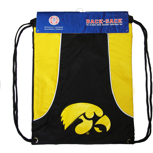 NCAA - Axis Backsack - University of Iowa Hawkeyes - Yellow