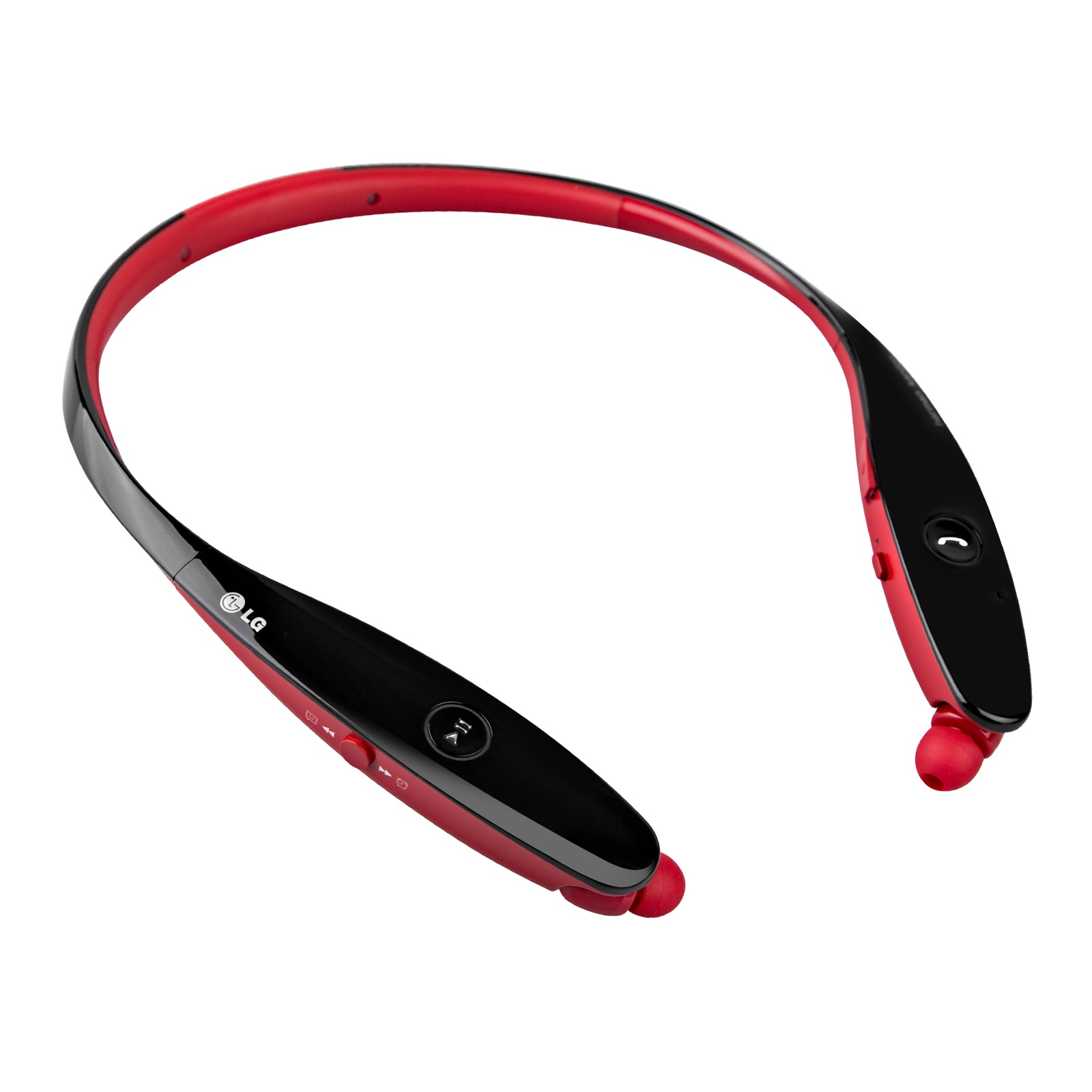 LG Tone HBS-900 Infinim Bluetooth Stereo Headset - Red Black (Certified Refurbished)