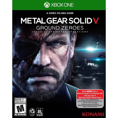 Metal Gear Solid V Ground (Xbox One) - Pre-Owned (Metal Gear Solid V Ground Zeroes Review)