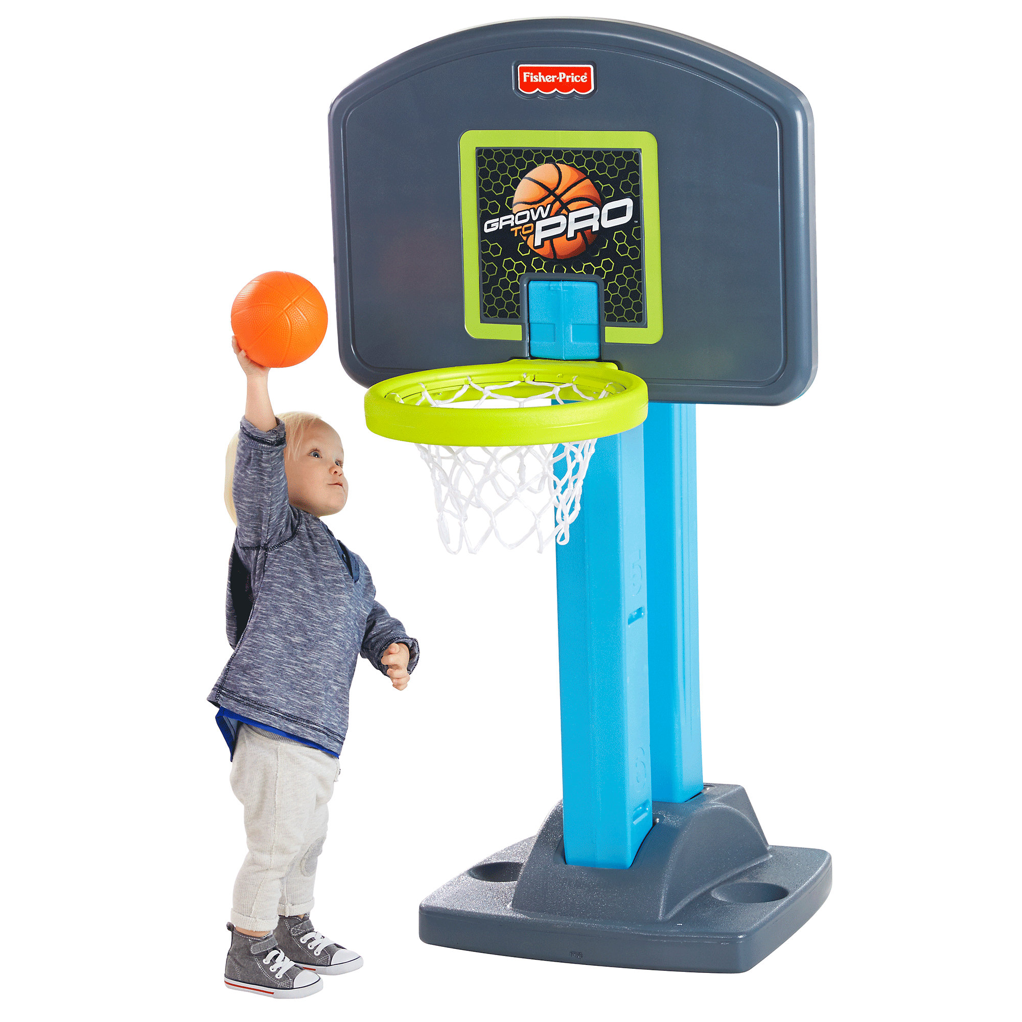 Fisher Price Grow to Pro Basketball by FISHER PRICE