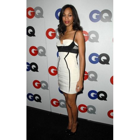 Zoe Saldana At Arrivals For GentlemanS Quarterly Gq Men Of The Year Event Chateau Marmont Los Angeles Ca November 18 2009 Photo By Dee CerconeEverett Collection - Halloween Events Bars Los Angeles