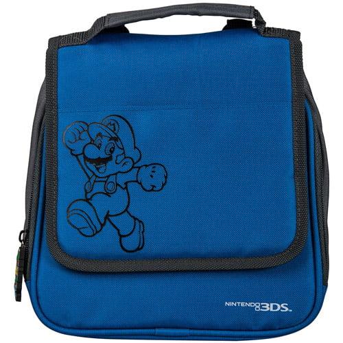 PowerA DS Super Mario Transporter - Blue (DS, DSI, DSIXL, 3DS, 3DSXL)