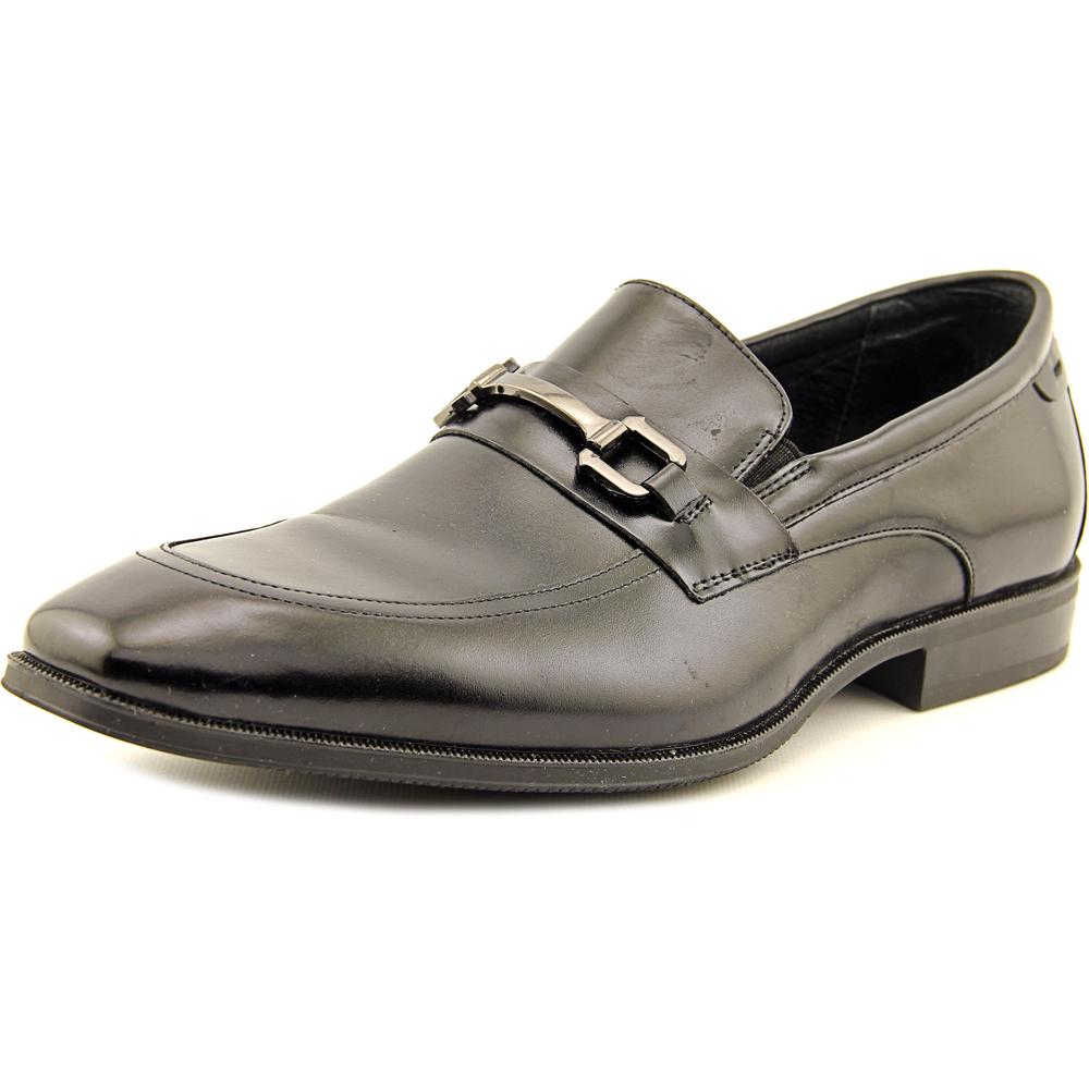 Stacy Adams Faraday Men Apron Toe Leather Black Oxford by Stacy Adams