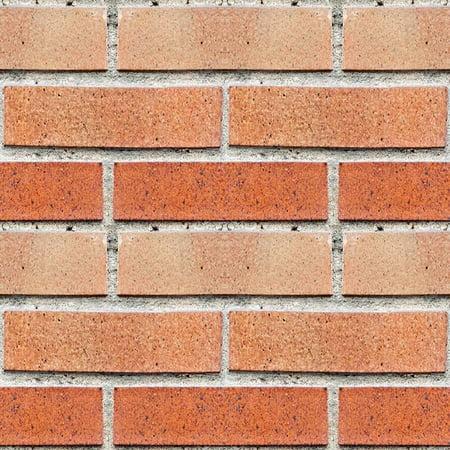 Brick Tile (Red Bricks Peel & Stick Foam Tiles)