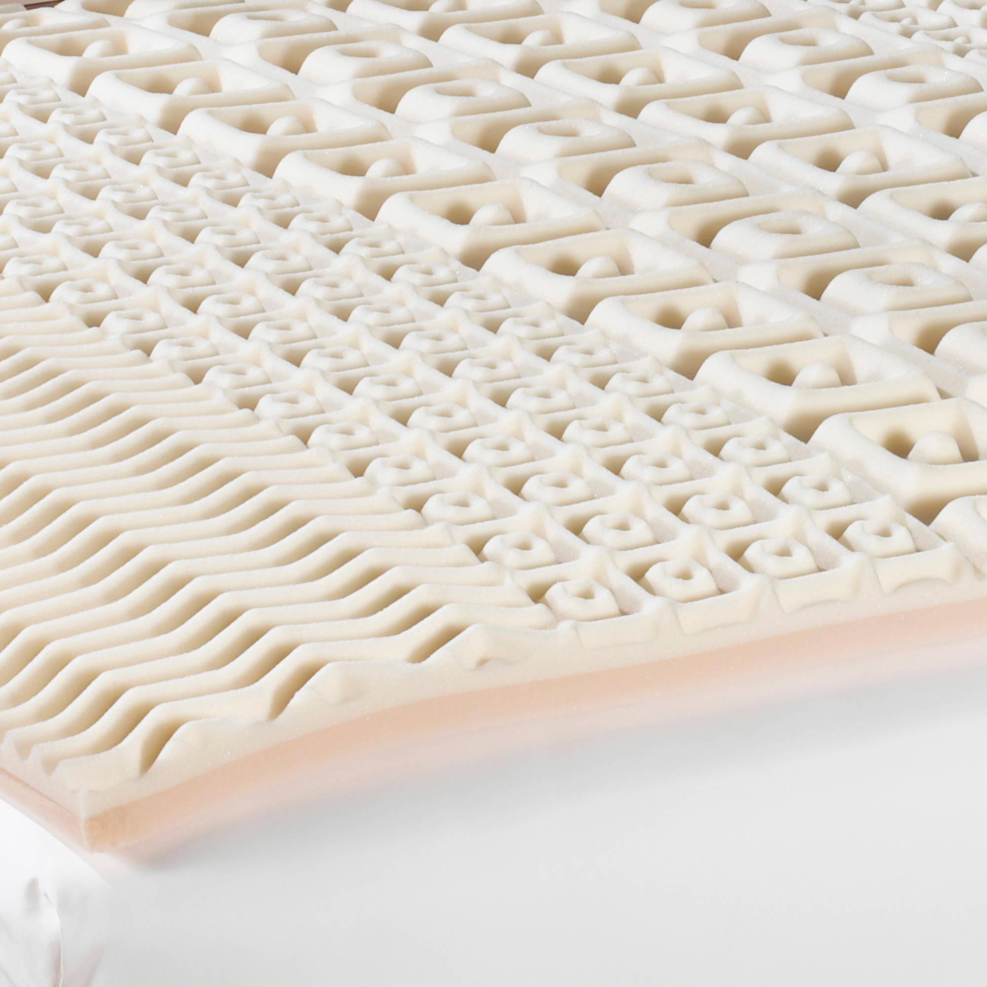 Beautyrest 5-Zone 2.5 inch Contour Memory Foam Topper,Multiple Sizes