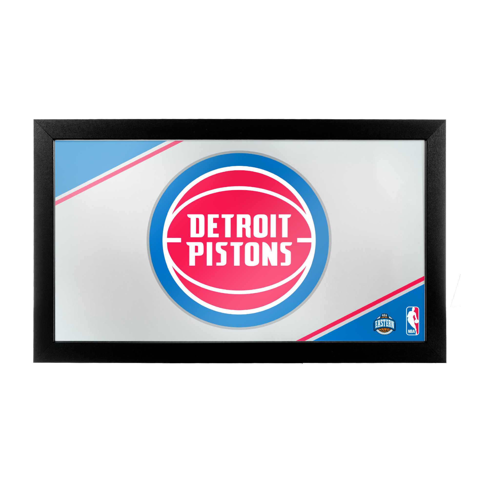 NBA Detroit Pistons Framed Logo Mirror