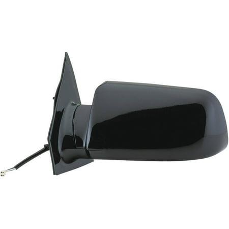 62032G - Fit System Driver Side Mirror for 1999 Chevy Astro Van, GMC Safari Van, black, foldaway, -