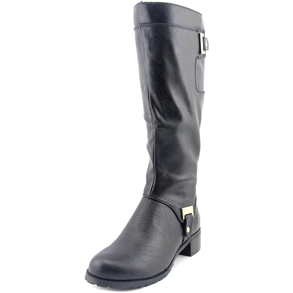 Bella Vita Anya II W Round Toe Leather Knee High Boot by Bella Vita