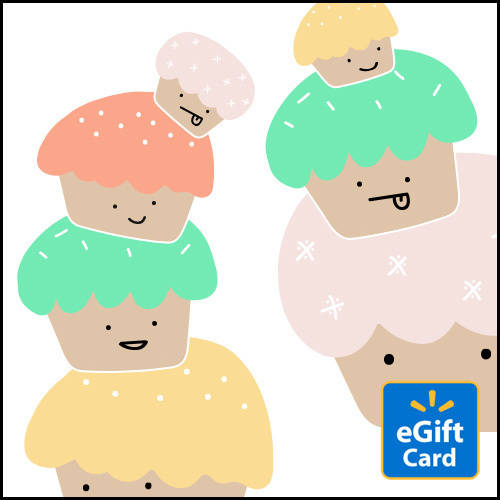 Cupcakes Walmart eGift Card