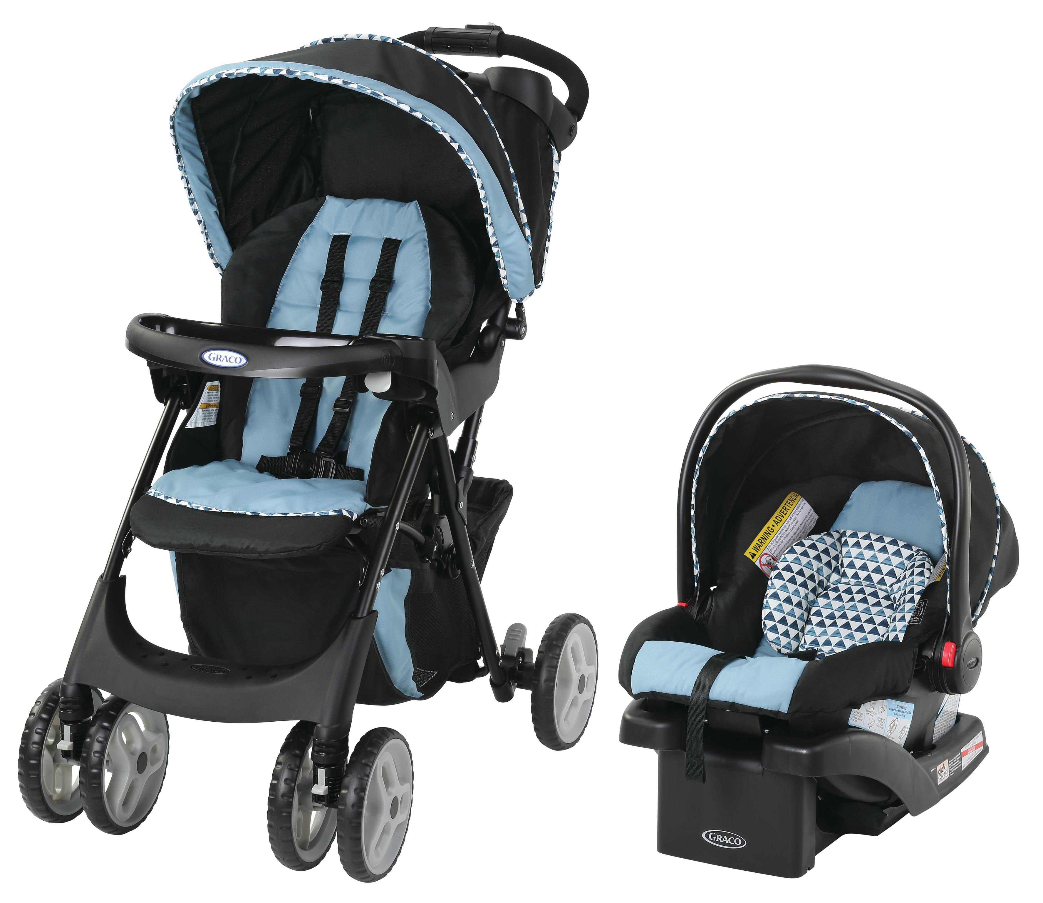 Graco Comfy Cruiser Click Connect Travel System, Jax by Graco