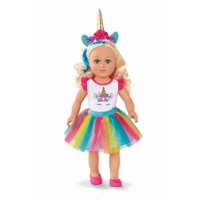 "My Life As 18"" Poseable Unicorn Trainer Doll, Choose from 3 Styles"