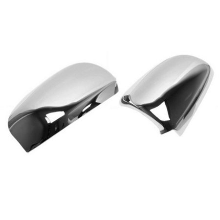 Chrome Mirror Covers Compatible With 2016-2018 Toyota Tacoma ^No Signal - Tacoma Chrome Mirror Covers