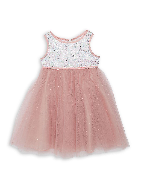 Little Girl's Lydia Sequin Dress
